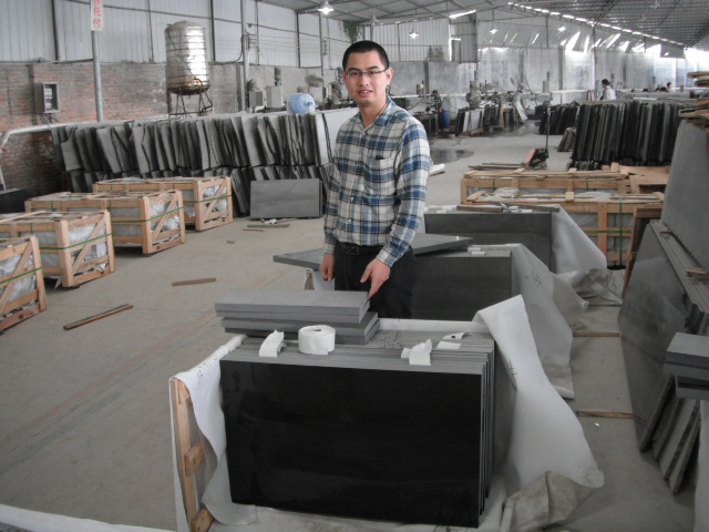 our black stone factory at quanzhou city